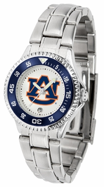 Auburn Competitor Women's Steel Band Watch
