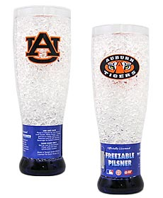 Auburn Tigers Crystal Pilsner Glass