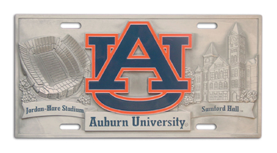 Auburn Deluxe Collector's License Plate