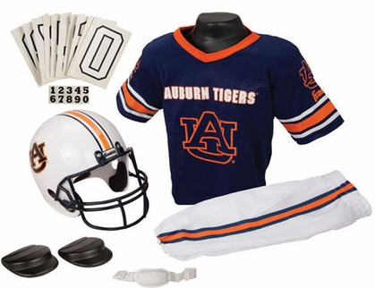 Auburn Deluxe Youth Uniform Set - Medium