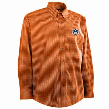 Auburn Mens Esteem Button Down Dress Shirt (Team Color: Orange)