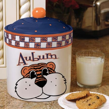 Auburn Gameday Ceramic Cookie Jar