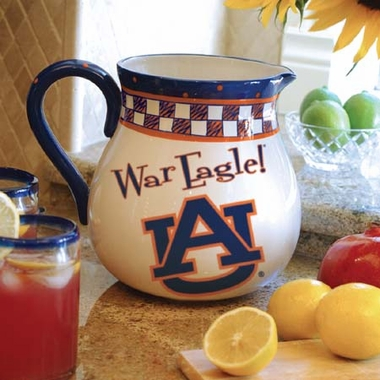 Auburn Gameday Ceramic Pitcher