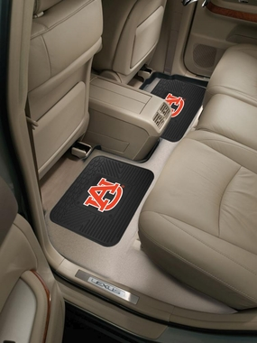 Auburn SET OF 2 Heavy Duty Vinyl Rear Car Mats
