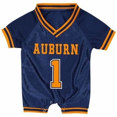 Auburn Infant Pounce Football Jersey Onesie