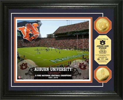 Auburn Tigers Auburn University Stadium Gold Coin Photo Mint