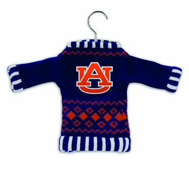 Auburn Knit Sweater Ornament (Set of 3)