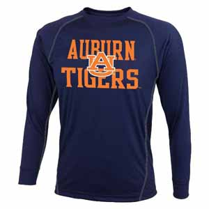 Auburn L/S Speedwick Performance Shirt - Large