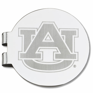 Auburn Laser Engraved Money Clip