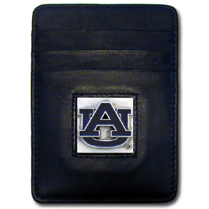Auburn Leather Money Clip (F)