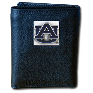 Auburn Leather Trifold Wallet (F)