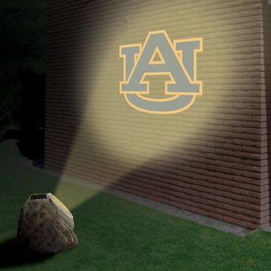 Auburn Logo Projection Rock