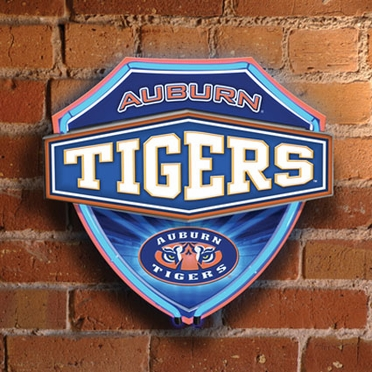 Auburn Neon Shield Wall Lamp