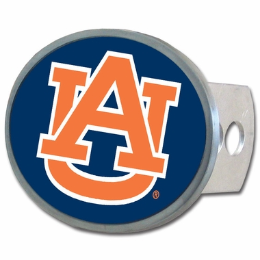 Auburn Oval Metal Hitch Cover