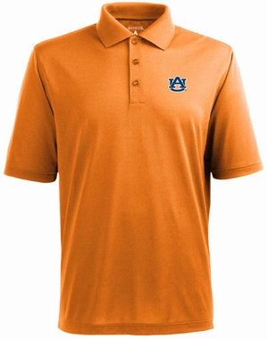 Auburn Mens Pique Xtra Lite Polo Shirt (Alternate Color: Orange)