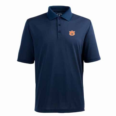 Auburn Mens Pique Xtra Lite Polo Shirt (Team Color: Navy)