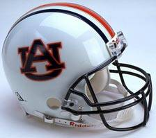 Auburn Riddell Full Size Authentic Helmet