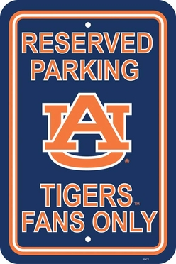 Auburn Plastic Parking Sign (P)