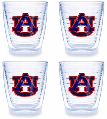 Auburn Set of FOUR 12 oz. Tervis Tumblers