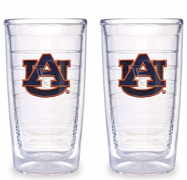 Auburn Set of TWO 16 oz. Tervis Tumblers