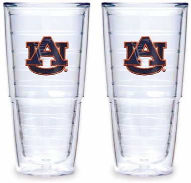 Auburn Set of TWO 24 oz. Tervis Tumblers