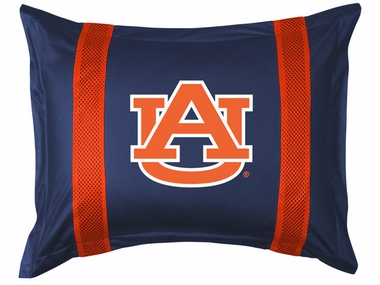 Auburn SIDELINES Jersey Material Pillow Sham