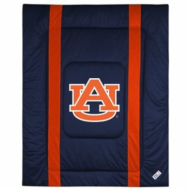 Auburn SIDELINES Twin Jersey Material Comforter
