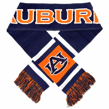 Auburn Tigers 2012 Team Stripe Knit Scarf