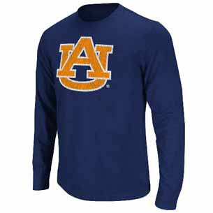 Auburn Touchdown Soft L/S T-shirt - Small