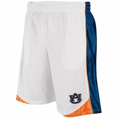 Auburn Vector Performance Shorts (White)