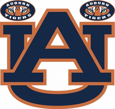 Auburn Wallmarx Large Wall Decal