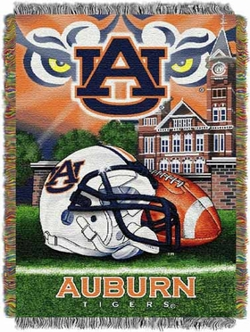 Auburn Woven Tapestry Throw Blanket