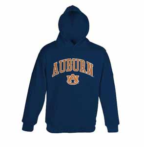 Auburn YOUTH Hooded Sweatshirt - Large