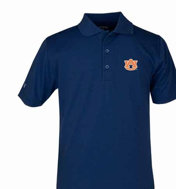 Auburn YOUTH Unisex Pique Polo Shirt (Team Color: Navy)