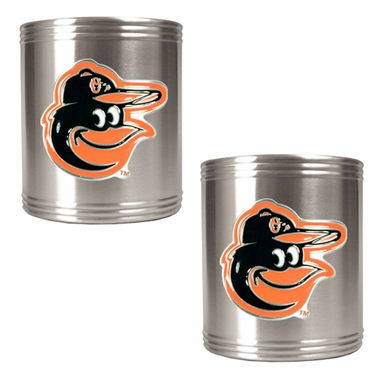 Baltimore Orioles 2 Can Holder Set