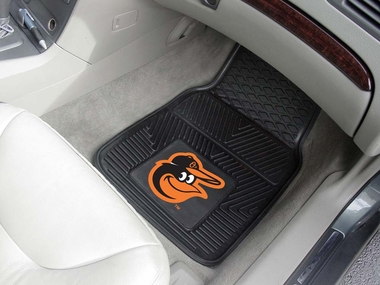 Baltimore Orioles 2 Piece Heavy Duty Vinyl Car Mats