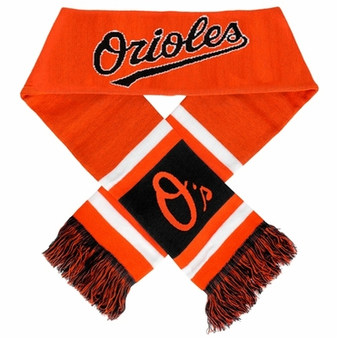 Baltimore Orioles 2012 Team Stripe Knit Scarf