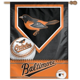 Baltimore Orioles 27x37 Banner - New Style