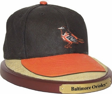 Baltimore Orioles Ball Cap Figurine