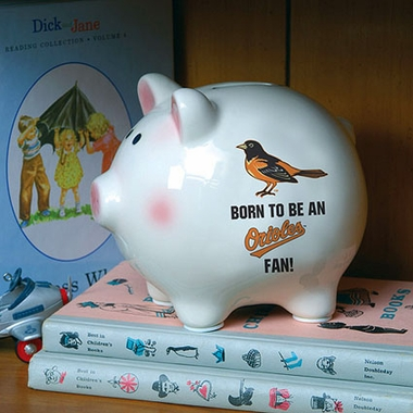 Baltimore Orioles (Born to Be) Piggy Bank