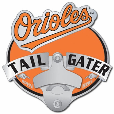 Baltimore Orioles Bottle Opener Hitch Cover