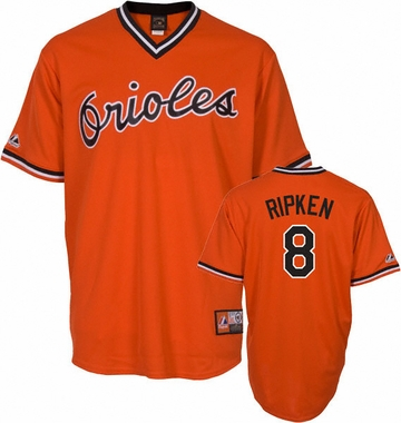 Baltimore Orioles Cal Ripken, Jr. Replica Throwback Jersey