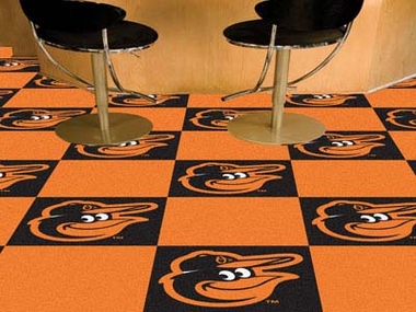 Baltimore Orioles Carpet Tiles