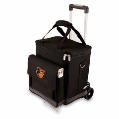 Baltimore Orioles Cellar w/ Trolley (Black)