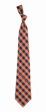 Baltimore Orioles Check Poly Necktie