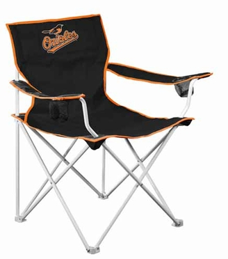 Baltimore Orioles Deluxe Adult Folding Logo Chair