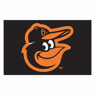 Baltimore Orioles Economy 5 Foot x 8 Foot Mat