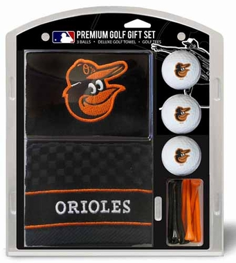 Baltimore Orioles Embroidered Towel Gift Set