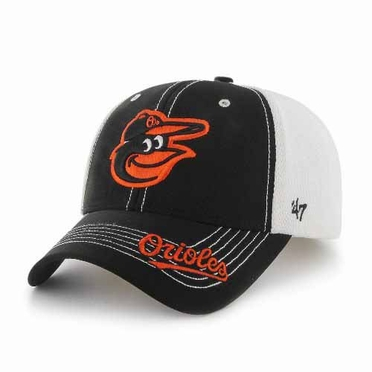 Baltimore Orioles Flux Structured Adjustable Mesh Hat