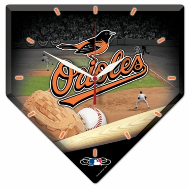 Baltimore Orioles High Definition Wall Clock